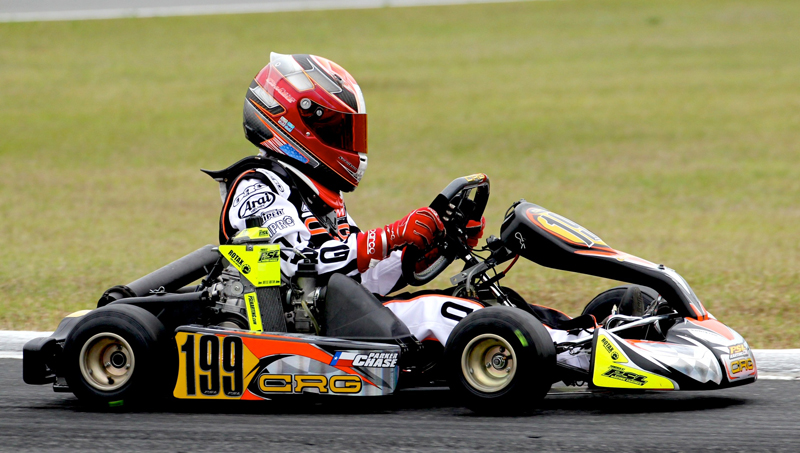 Parker Chase will switch to a PSL Karting/CRG Mini Max package for the final rounds of the 2013 Florida Winter Tour (Photo credit:  Chase Racing)