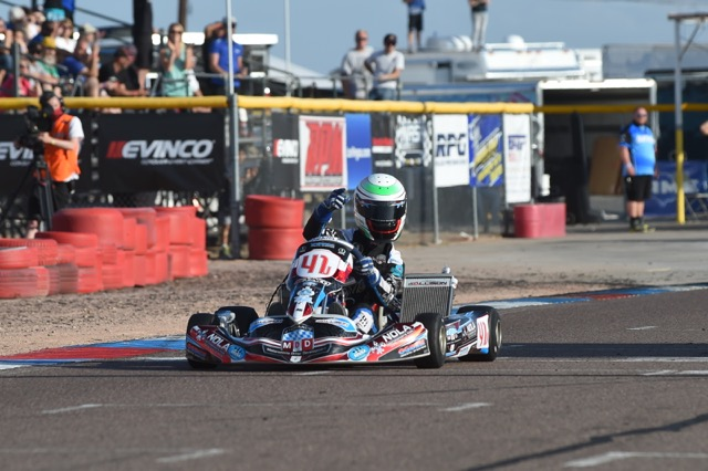 BRADEN EVES TAKES MDD TO THE TOP IN SUPERKARTS USA COMPETITION